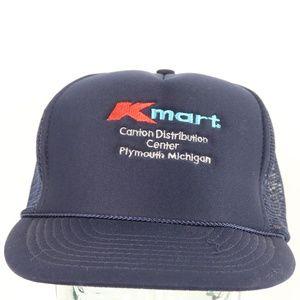 Vintage 80s K Mart Spell Out Trucker Hat Snapback